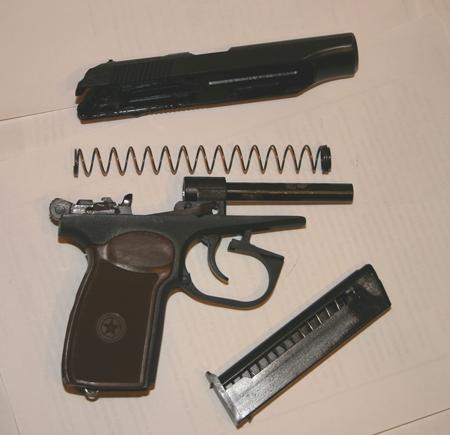 Инструкция По Сборке Боевого Пистолета